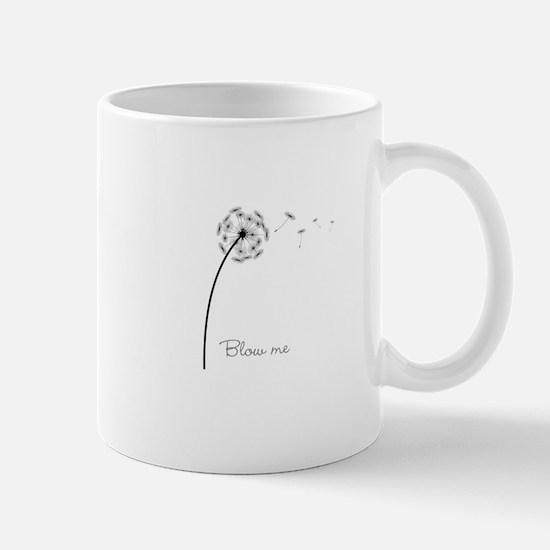 Blow Me Dandelion Mug