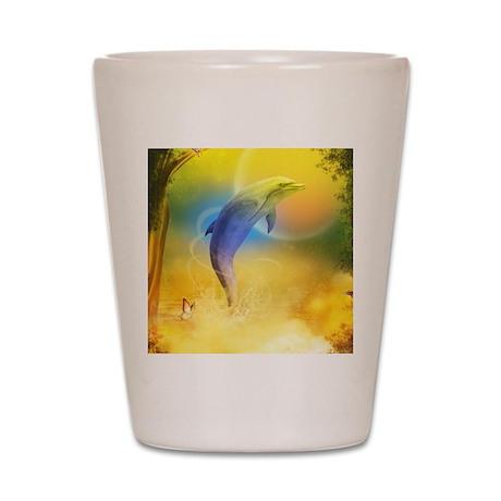 cd_box_tile_coaster_hell Shot Glass