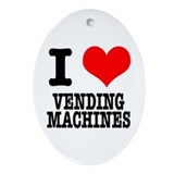Vending machine Oval Ornaments