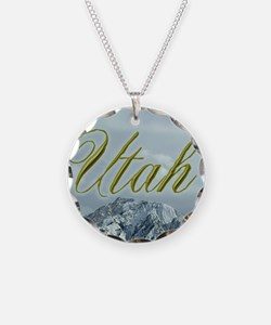 Utah Mountains Souvenir Necklace