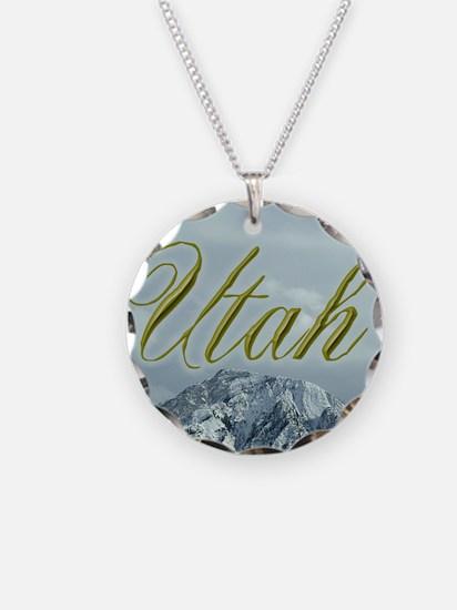 Utah Mountains Souvenir Necklace
