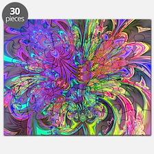 Glowing Burst of Color Deva Puzzle