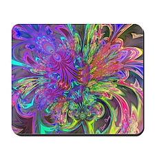 Glowing Burst of Color Deva Mousepad