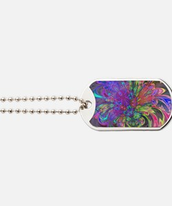 Glowing Burst of Color Deva Dog Tags