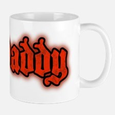 Daddy Logo in Red Mug