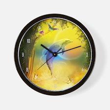 cd_large_wall_clock_hell Wall Clock