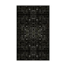 Black Mosaic Tile Patten Decal