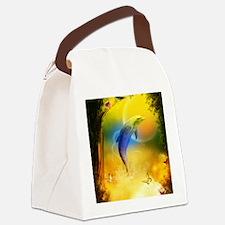 cd_ipad Canvas Lunch Bag