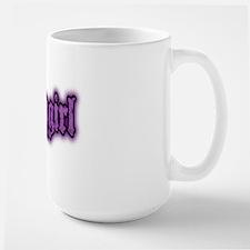Babygirl Logo in Purple Large Mug
