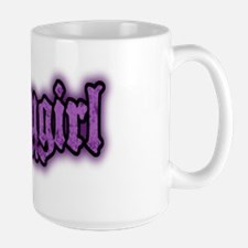 Babygirl Logo in Purple Mug