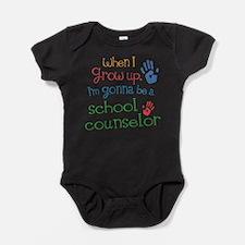 Kids Future School Counselor Infant Bodysuit Body