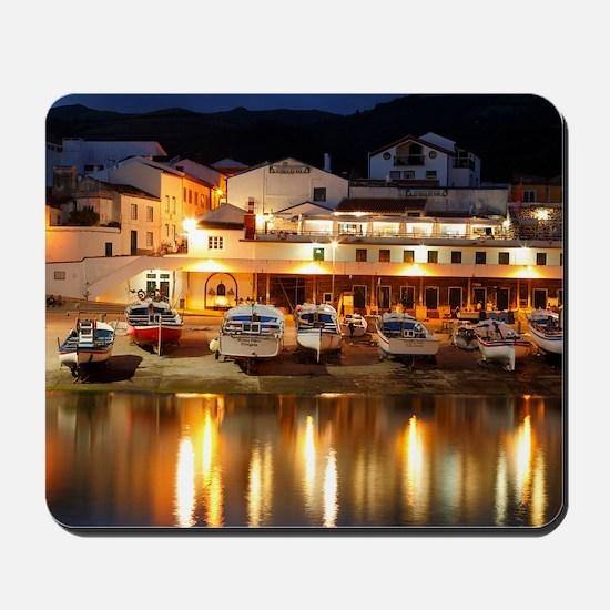 Harbour at dusk Mousepad