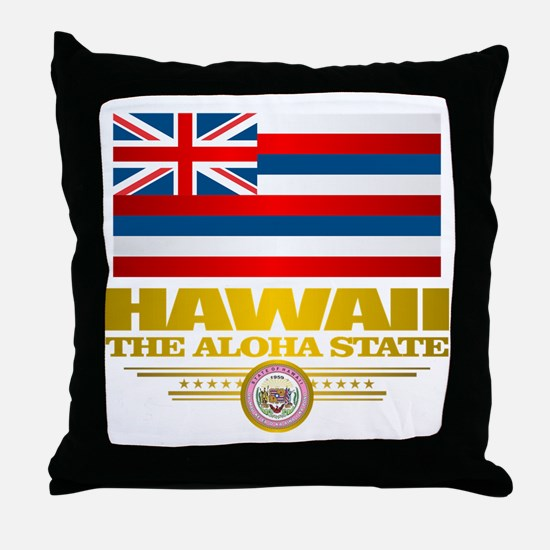 Hawaii Pride Throw Pillow