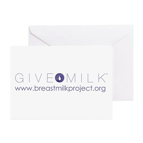 Give Milk Greeting Cards (Pk of 10)