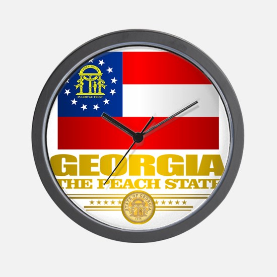 Georgia Pride Wall Clock