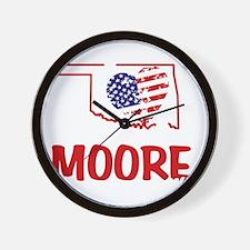 I Love You Moore Wall Clock
