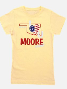 I Love You Moore Girl's Tee