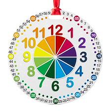Read It Myself Clock Ornament