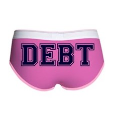 Debt Women's Boy Brief