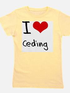I love Ceding Girl's Tee