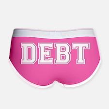 Debt University Women's Boy Brief