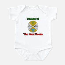 Calabresi, the hard heads. Infant Bodysuit