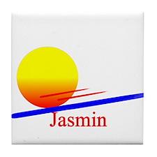 Jasmin Tile Coaster