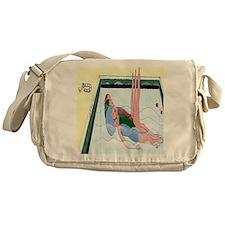 Synchronized Swimming Messenger Bag