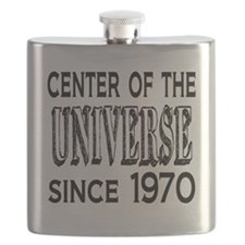 Center of the Universe Since 1970 Flask