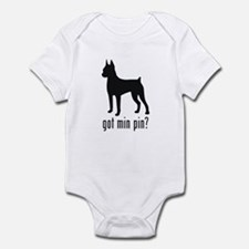 Minature Pinscher Infant Bodysuit