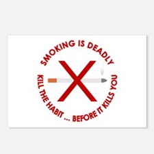...Smoking Is Deadly... Postcards (Package of 8)