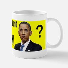 He Didnt Know Mug