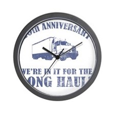 20th Anniversary Humor (Long Haul) Wall Clock