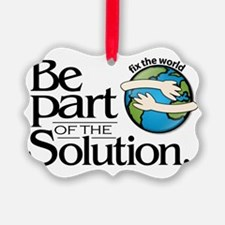 Be Part of the Solution NB Ornament