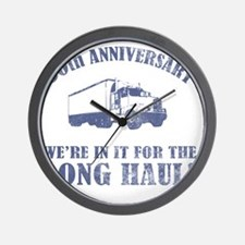 30th Anniversary Humor (Long Haul) Wall Clock