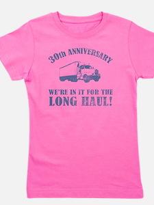 30th Anniversary Humor (Long Haul) Girl's Tee