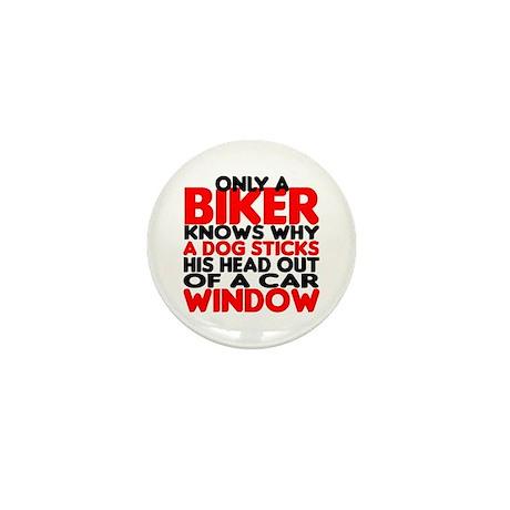 Only a Biker Mini Button (10 pack)