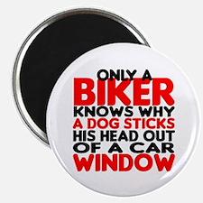 """Only a Biker 2.25"""" Magnet (10 pack)"""
