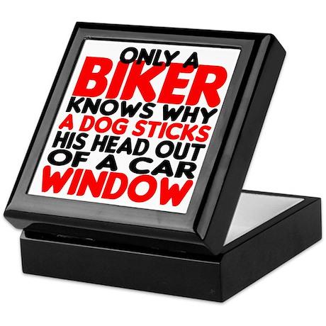 Only a Biker Keepsake Box
