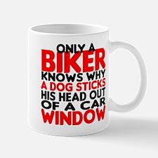 Only a Biker Mug