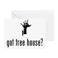 Tree-House-02-A Greeting Card