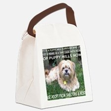 Dusty - Puppy Mill Survivor Canvas Lunch Bag