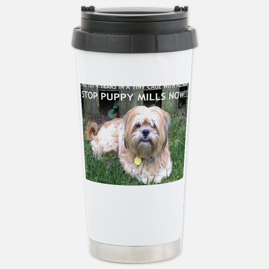Dusty - Puppy Mill Surv Stainless Steel Travel Mug