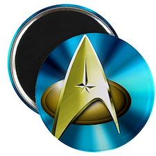 Blue and Gold Star Trek  Tile Magnet
