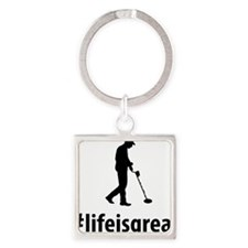 Metal-Detecting-06-A Square Keychain