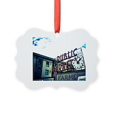 Pike Place Market Ornament