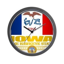 Iowa Pride Wall Clock