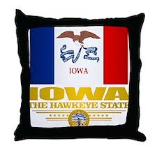 Iowa Pride Throw Pillow