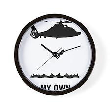 Coast-Guard-03-A Wall Clock