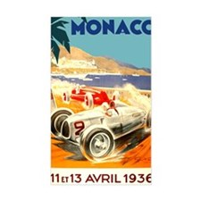 Antique 1936 Monaco Grand Prix Decal